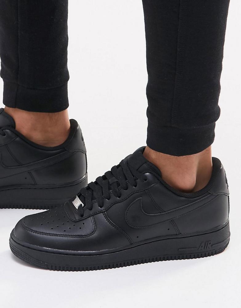 chaussure homme nike air force 1 noir