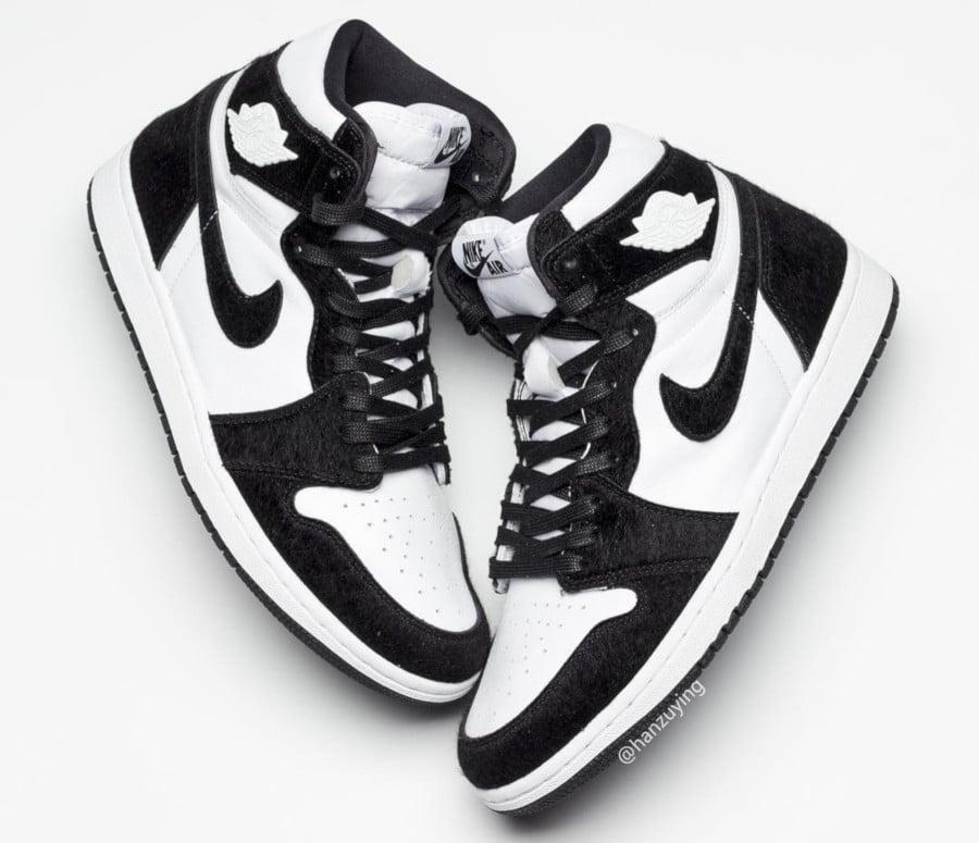 air jordan 1 high og noir et blanc
