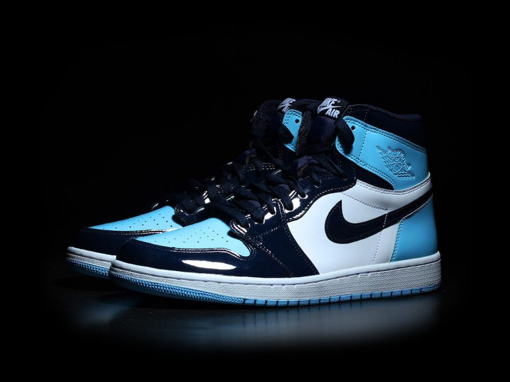 femme air jordan 1 retro bleu et blanche,Air Jordan 1 Retro UNC ...