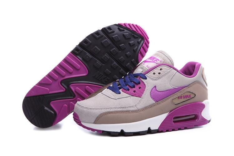 air max 90 femme violette